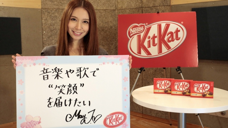 Nestlé KIT KAT, May J.